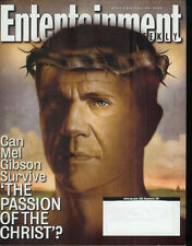 MEL GIBSON Chris Noth CEDRIC the Entertainer 2004 magazine Entertainment Weekly