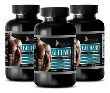 fat for fuel - GET HARD PILLS FOR MEN - l-arginine complete - 3 Bottles