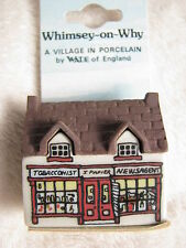 Wade Porzellan, Whimsey-on-Why Nr.4 Tobacconist Shop, A Village in Porcelain