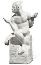 Signos Del Zodiaco, Figurilla Gemelos Masculino, Porcelana, Royal Copenhagen