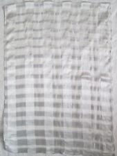 - Étole/écharpe en mousseline  MARC ROZIER 80% soie  vintage Scarf  58 x 165 cm