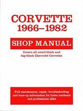 1966-1982 Chevrolet Corvette Shop Repair Service Manual 1981 1980 1979 1978 1977