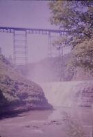 Vintage Photo Slide Letchworth Park New York 1989