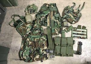 US Army Woodland camouflage WCP Grenadier Infantry Men Weste Taschen Set 15teile