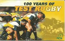 1999 100 Years Of Test Rugby - Post Office Stamp Pack