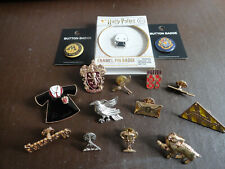 HARRY POTTER 15 OFFICIAL WARNER BROTHERS WIZARDING WORLD PIN BADGES
