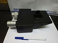 MICROSCOPE PART BAUSCH LOMB HEAD TRINOCULAR OPTICS AS IS #82-26