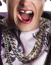 Suicide Squad Joker Jared Leto Silver Fake Teeth Licensed Movie Prop