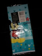 Mickey Mouse Fun to Be One Plastic Table Cover birthday 54x96 new
