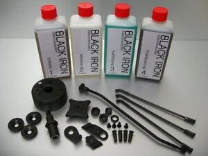Waffen Stahl Kaltbrünierung Brünierung Brünieren Brüniermittel 4X  500ml