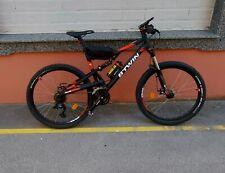 BICICLETA DE MONTAÑA DOBLE SUSPENSIÓN ROCKRIDER ST 520 S 27,5'' 24V GRIS