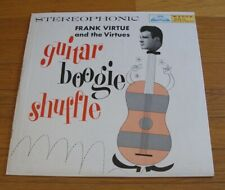 Frank Virtue and the Virtues 1959 Wynne Stereo LP Guitar Boogie Shuffle cLEAn!