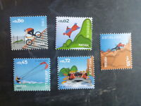 2015 PORTUGAL EXTREME SPORTS SET 5 MINT STAMPS MNH