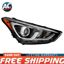 20-9823-00-1 Headlight Right Side Halogen w/LED for 17-18 Hyundai Santa Fe Sport