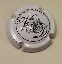 Capsule de champagne Vve DURAND 9d. framboise et noir