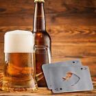 Stylish Poker Stainless Steel Poker Playing Card  Beer Bottle Cap Opener New