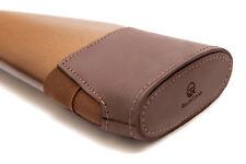 Recoil Pad Slip On Shotgun Gun Rifle Stock Cover Padding Genuine Leather Hunting