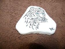 "Santorini Stone ""Snow Leopard"" 4"" X 3 """