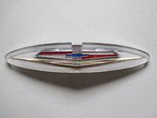 60 Chev 283 V8 Grill Badge Insert New 1960 Belair Impala El Camino Front Emblem