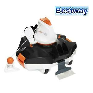 RETURNs Bestway Robotic Pool Cleaner Cleaners Automatic Swimming Pools Flat Filt