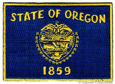 OREGON STATE FLAG PATCH EMBROIDERED IRON-ON new APPLIQUE EMBLEM new