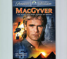 MacGyver - The Complete Fifth Season 5 (Dvd, 2006, 6-Disc Set) - Vg+