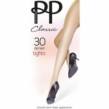 Pretty Polly No Pattern Everyday Tights for Women