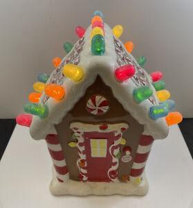 Hallmark Christmas Gumdrop Musical Gingerbread House With Lights & Sound 2008