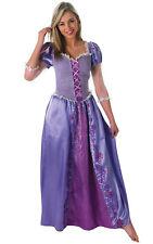 Ladies DISNEY RAPUNZEL Deluxe Princess Fancy Dress Costume Adult World Book Wk
