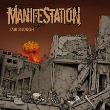 MANIFESTATION - FAIR ENOUGH (CD DIGIPACK) NEU Hardcore Oldschool Madball Rykers