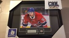 MONTREAL CANADIENS unsigned 8x10 JONATHAN DROUIN #92 Hockey Frame Cadre photo