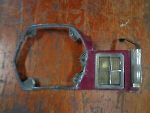 1975 76 77 78 Mercury Bobcat right hand fender extension front turn signal lens