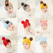 Girl Boy Toddler Kids Cute Baby Infant Winter Crochet Knit Hat Warm Beanie Cap