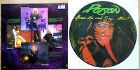 EX/EX! POISON Open Up and Say... Ahh!!! VINYL PICTURE PIC DISC LP