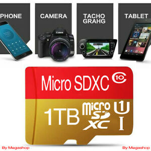 1TB Micro SDXC Class10 32gb 64gb 128gb 256gb 512gb Flash Memory Card High-speed