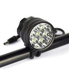 FARO 7x LED MTB 10000 LUMEN BICI FANALE CREE XM-L U2 BICICLETTA BICYCLE LIGHT T6