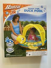 BANZAI JR SHADY TIME Duck POOL - Kids Toddler Paddling Swimming 18Mths+