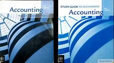 Accounting by John Hoggett, John Medlin Lewin Edwards with Study Guide two books