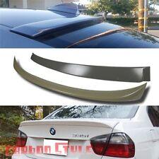 Unpainted BMW E90 A Roof Wing & 4D OE Trunk Boot Sedan Spoiler Rear 330I 323I