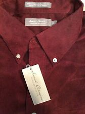 Cremieux Shirt nouveau Homme 2XT 100/% coton PDSF 89.50 $