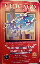 """Chicago Air & Water Show 1999 Poster 11"""" x 17"""""""