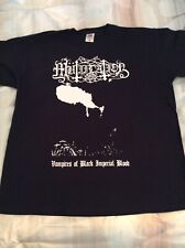 MUTIILATION Vampires Shirt XL, The Chasm, Urgehal, Urfaust, Inquisition, Austere