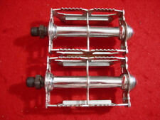 MKS #33A Rat Trap Pedal Pedals Chrome Steel Japan Used.