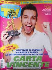 TV Sorrisi e Canzoni n°9 2009 NUmero Speciale Festival di Sanremo  [D48]