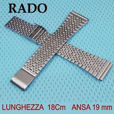 RADO BRACELET 19 mm stainless steel. braccialetto per orologio RADO