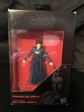 "Star Wars The Black Series The Force Awakens General Leia Organa 3.75"" Figure"