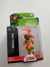 "2015 Jakks Pacific World of Nintendo Series 1-1 Zelda Skull Kid 2.5"" Figure"