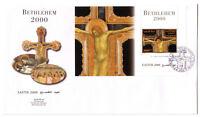 Palestinian Authority/Palestine Bethlehem Easter 2000 Large FDC Souv Sheet 119