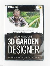 Geoff Hamilton's 3D Garden Designer PC CD-Rom Brand NEW