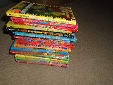 17 Goosebumps books-1-to-17 matched set Ghosts Fear Street-R.L. Stine
